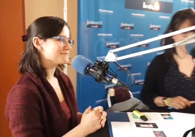 Interview de Camille Maestracci pour radio Jordanne FM