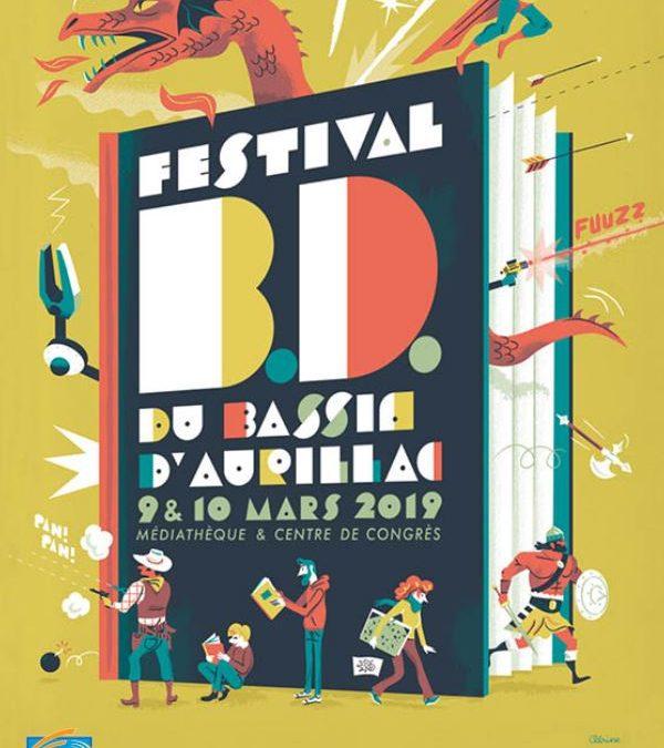 Festival BD du Bassin d'Aurillac 2020